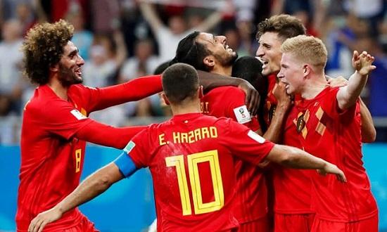 """Bỉ đang cho thấy sức mạnh """"đáng nể"""" tại World Cup năm nay."""