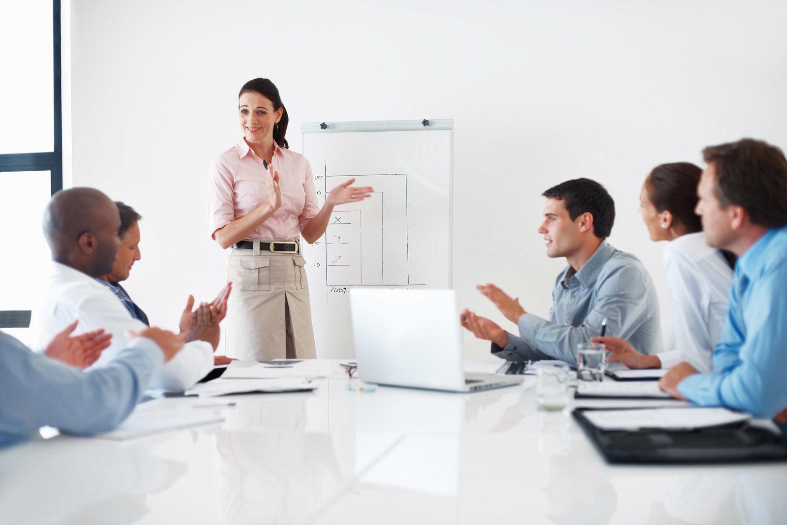 Khả năng thuyết trình sẽ được cải thiện nếu luyệ tập nhiều