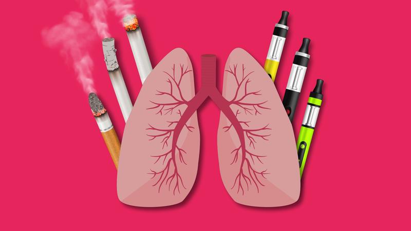 Thuốc lá đang tàn phá lá phổ của bạn và những người xung quanh