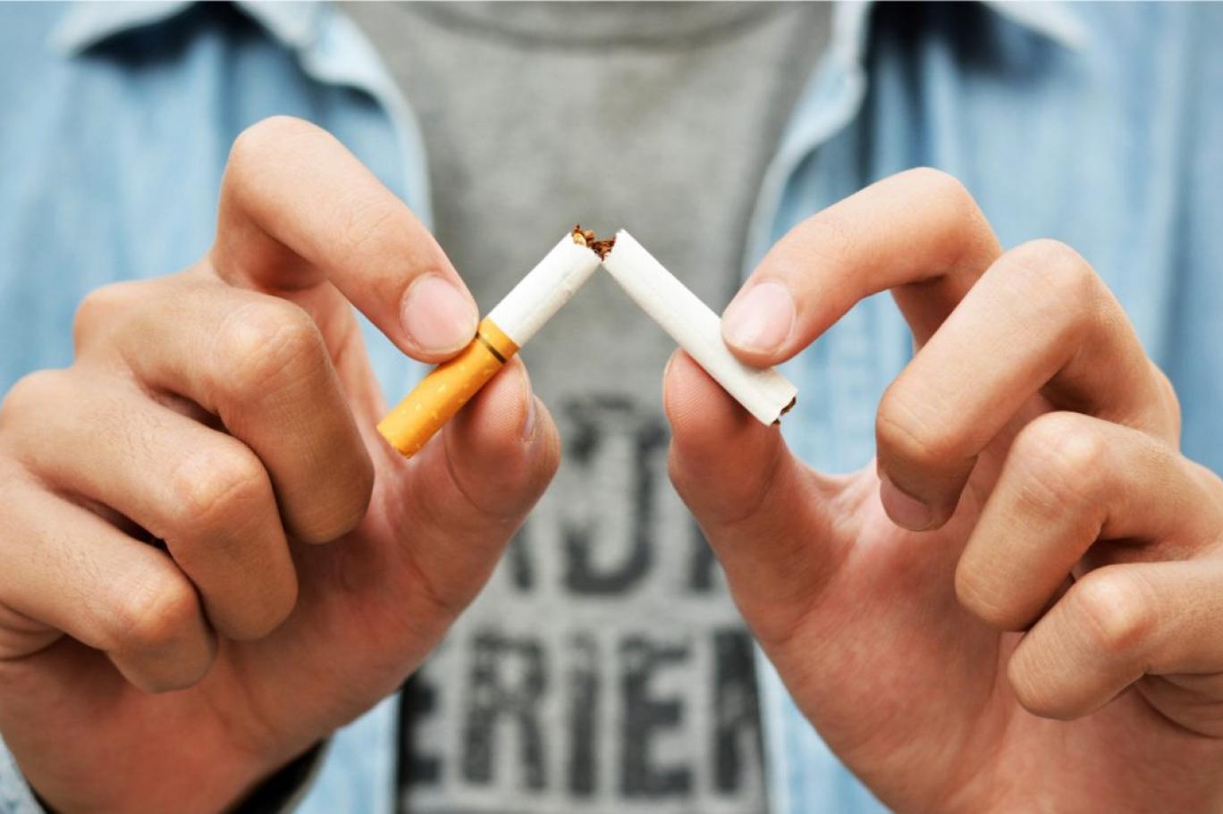 Chỉ hút nửa điếu thuốc
