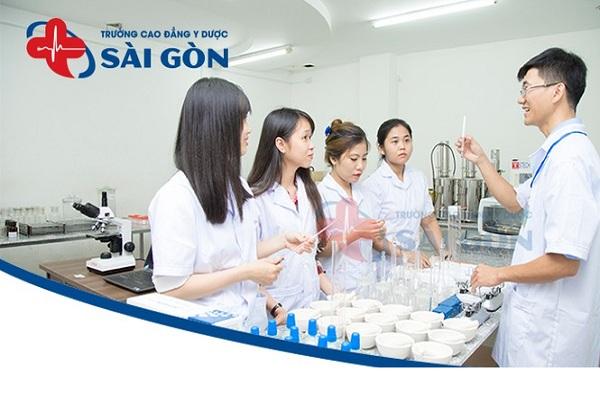 Thông tin xét tuyển cao đẳng Dược Trường Cao đẳng Y Dược Sài Gòn năm 2021