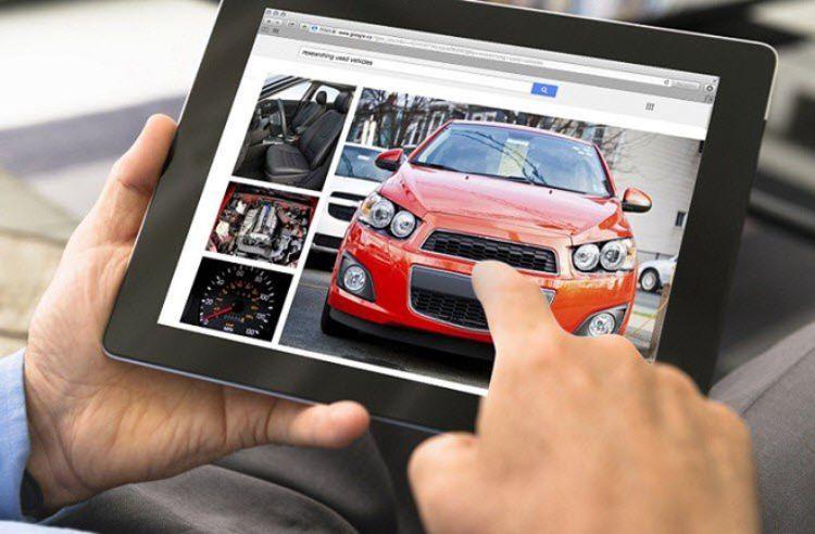 web xe hơi trực tuyến hàng